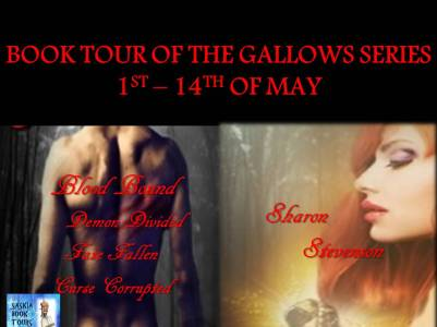 BOOK TOUR OF THE GALLOWS SERIES 1ST –